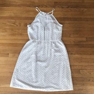 NWOT❗️Ivory Eyelet Dress Size L